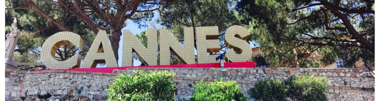 drei Bilder von Cannes