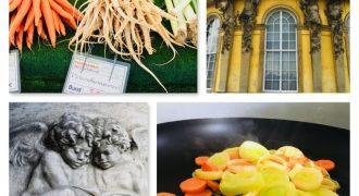Gemüse zum Tag der Deutschen Einheit