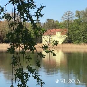 das grüne Haus am Heiligen See