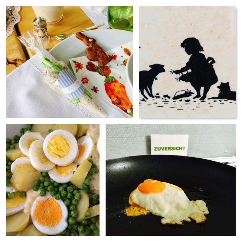 Eier und Ostern