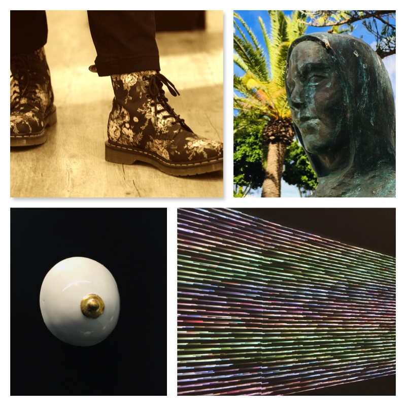 Kunst als Bild, als Bronze oder auch als Kleidung - wo steckt die Relation?