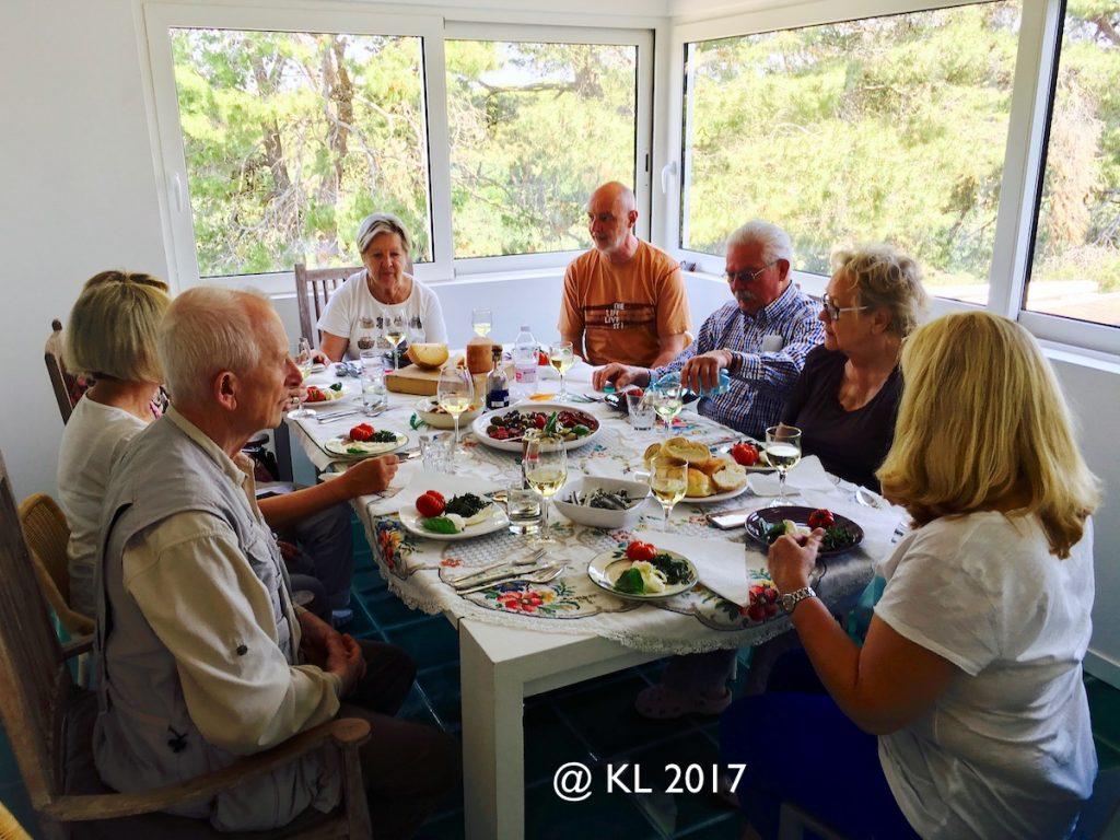 persönliche Betreuung und Essen nach Maß