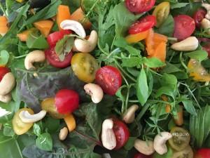 gemischter bunter Salat